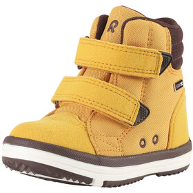 Reima Patter Wash Mid Shoes Kids ochre yellow